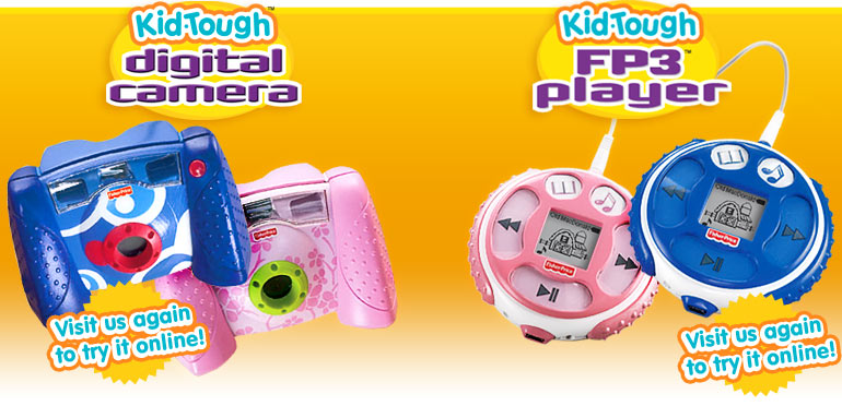 Preschooler Electronics - Child Digital Camera & Music Player - Kid Tough :  mp3 player cute kid contest2